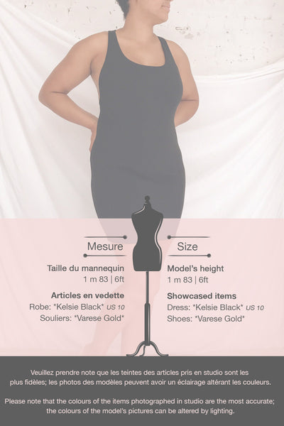 Kelsie Black Cocktail Dress | La petite garçonne template