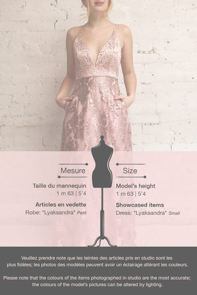 Lyaksandra Pink Floral Embroidered Maxi Dress | Boutique 1861 template