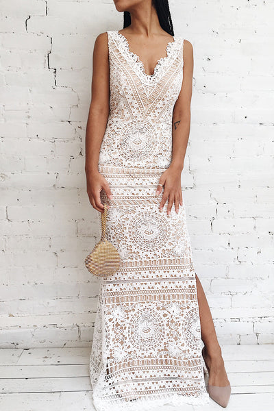 Nyura Ivory | Lace Bridal Dress