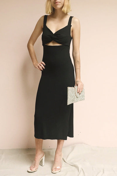 Sauville | Fitted Cut-Out Dress