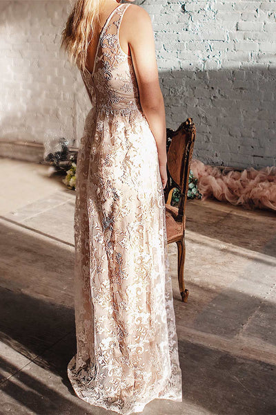 Wakana | White Embroidered Bridal Gown
