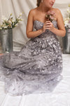Terese Grey | Floral Bustier Gown