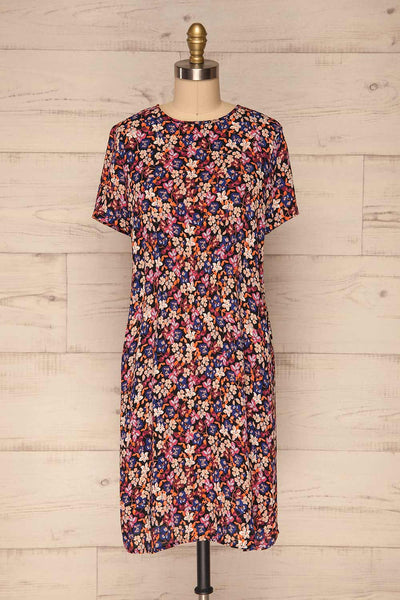 Egedal Colourful Floral Tunic Dress | La Petite Garçonne 1