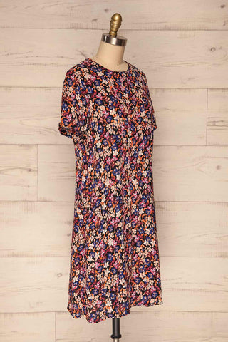 Egedal Colourful Floral Tunic Dress | La Petite Garçonne 3