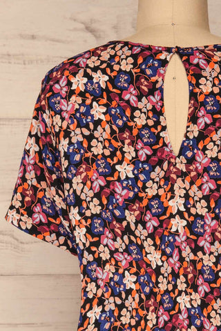 Egedal Colourful Floral Tunic Dress | La Petite Garçonne 6