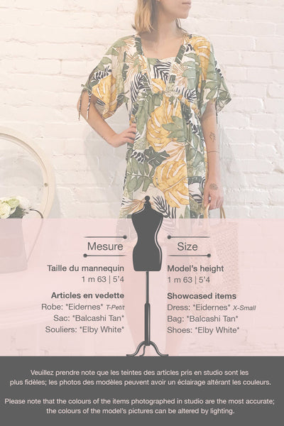 Eidernes Tropical Patterned Short Dress | La petite garçonne template
