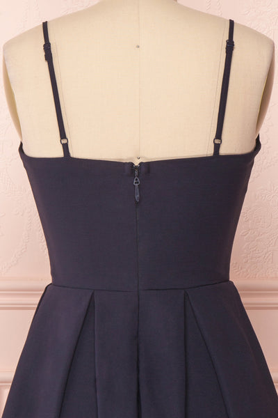 Ellyne Navy | A-Line Short Dress