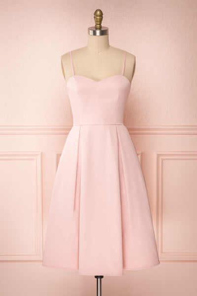 Ellyne Pink | A-Line Short Dress