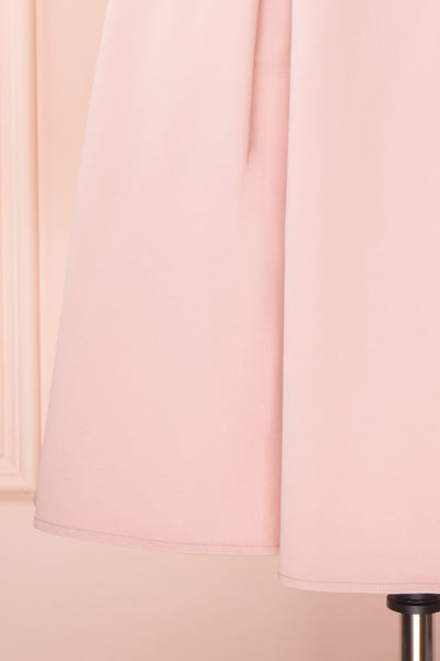 Ellyne Pink A-Line Cocktail Dress | Boutique 1861 skirt