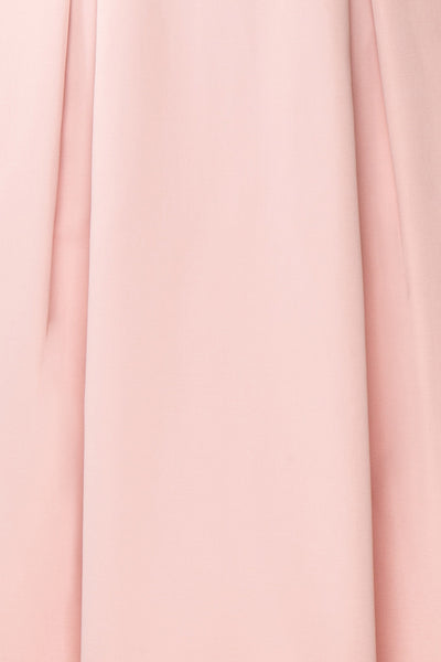 Ellyne Pink A-Line Cocktail Dress | Boutique 1861 fabric