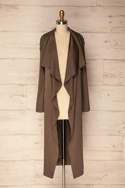 Elverum Dark | Khaki Trench Coat