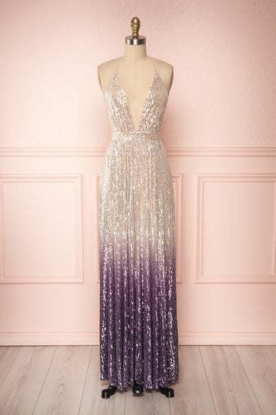 Emerentine Ombre Sequin Gown | Robe longue | Boutique 1861