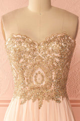 Emorina Douceur Crystals Bodice Pink Ball Gown | Boutique 1861