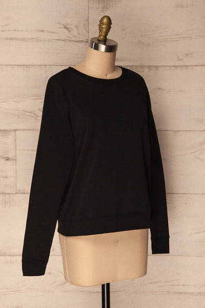 Ewell Storm Black Long Sleeved Sweater | La Petite Garçonne 3