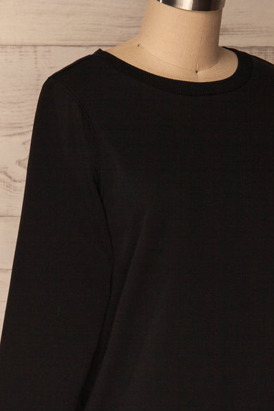 Ewell Storm Black Long Sleeved Sweater | La Petite Garçonne 4