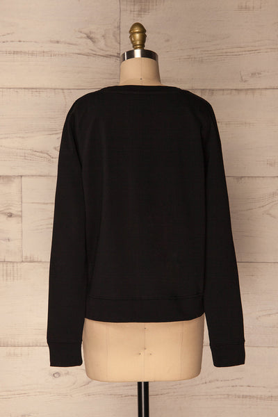 Ewell Storm Black Long Sleeved Sweater | La Petite Garçonne 5