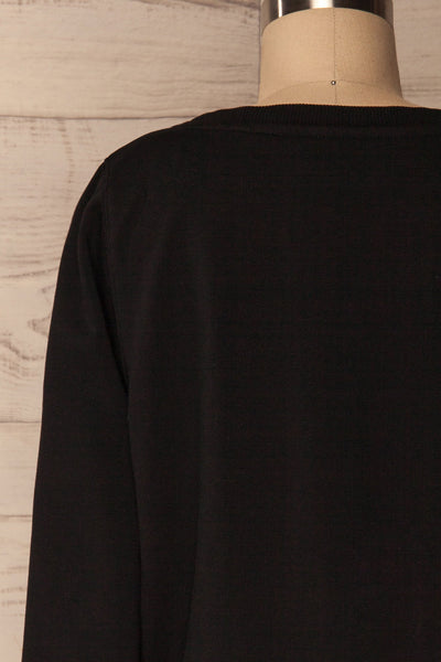 Ewell Storm Black Long Sleeved Sweater | La Petite Garçonne 6