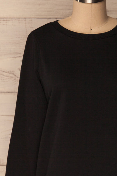 Ewell Storm Black Long Sleeved Sweater | La Petite Garçonne 2