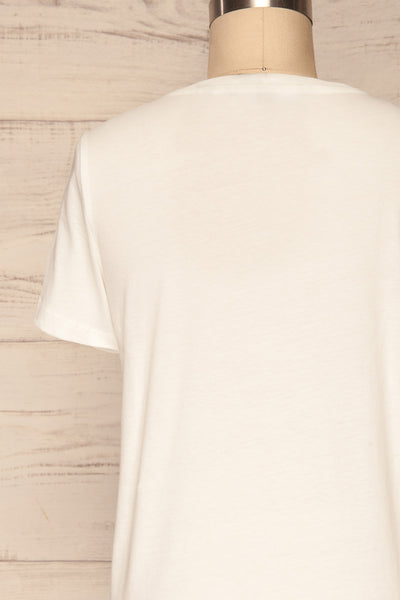Faadalen Cloud White Short Sleeved T-Shirt | La Petite Garçonne 6