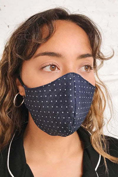 Face Mask Polka Dot | Boutique 1861 model look