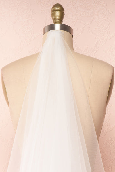 Fadeyushka White Embroidered Wedding Veil | Boudoir 1861