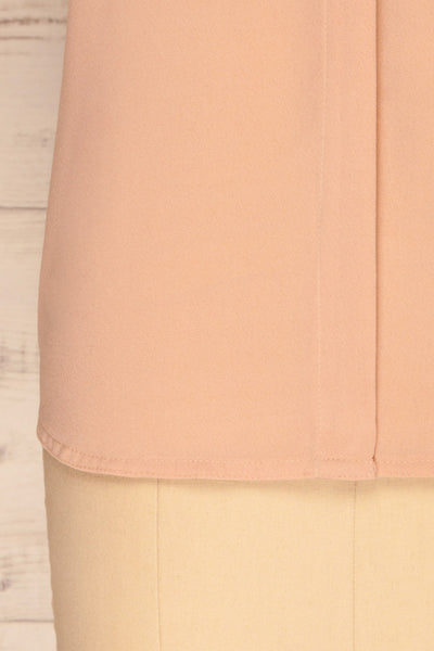 Fadlet Pink Blush Beige Sleeveless Top | La petite garçonne bottom