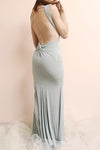 Farbrors Silver Maxi Dress | Robe back photo | La Petite Garçonne
