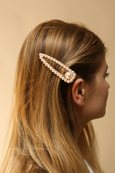 Festum | Hair Clips with Pearls