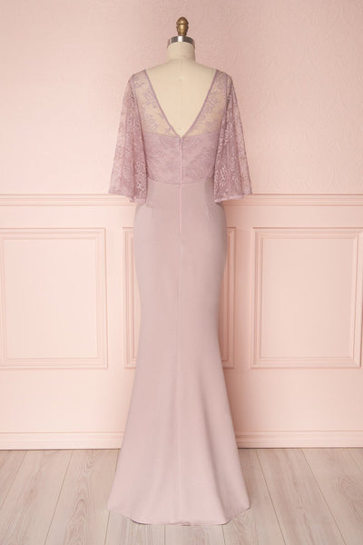 Flor | Lilac Mermaid Dress