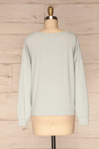 Friday Light Blue Long Sleeved Top | La Petite Garçonne 5