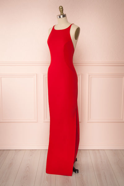 Gabella Red | Polymorphous Gown