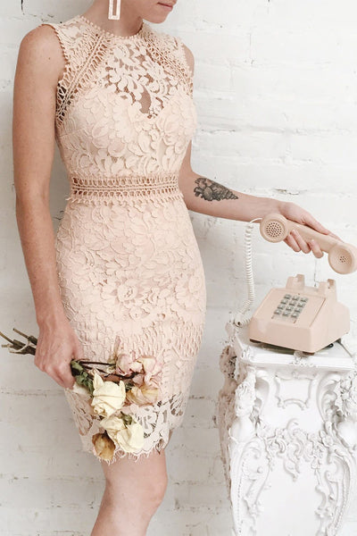 Gabryelli | Fitted Lace Dress