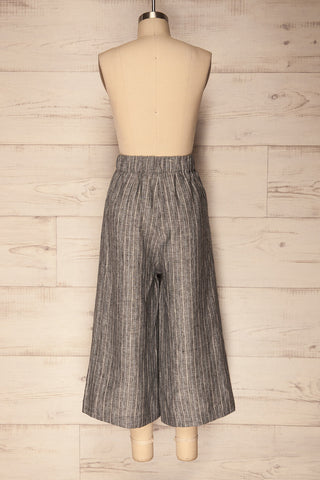 Gaico Tornade Striped Wide Leg Cropped Pants | La Petite Garçonne