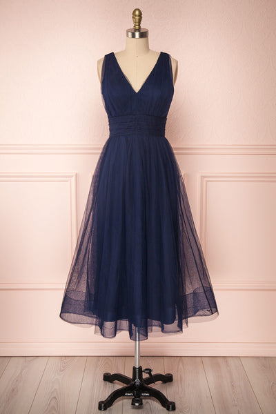 Galynne Marine Party Dress | Robe en Tulle | Boutique 1861