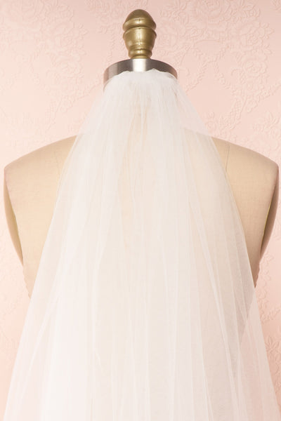 Gatchina White Wedding Veil w Pearls & Beads | Boudoir 1861