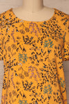 Gavrion Yellow Floral Short Sleeved T-Shirt | La Petite Garçonne 2