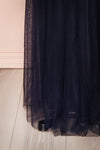 Grania Navy Blue Tulle Maxi Dress | Boutique 1861 7