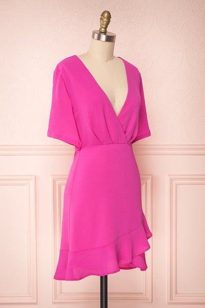 Helah Berry | Magenta Cocktail Dress