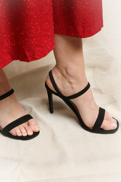 Hikari Red | Heeled Sandals