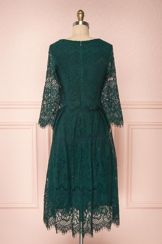 Holger Green Lace A-Line Cocktail Dress | Boutique 1861 5