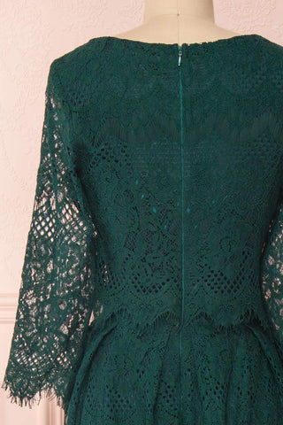 Holger Green Lace A-Line Cocktail Dress | Boutique 1861 6