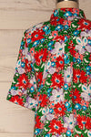 Ierissos Colourful Floral Button-Up Shirt | La Petite Garçonne 6