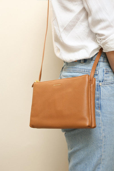 Iocus Cliff Brown Ted Baker Crossbody Bag | La Petite Garçonne Chpt. 2