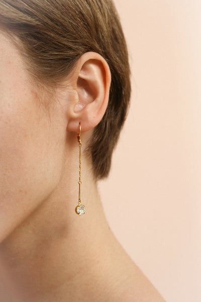 Jeanne de France | Pendant Earrings