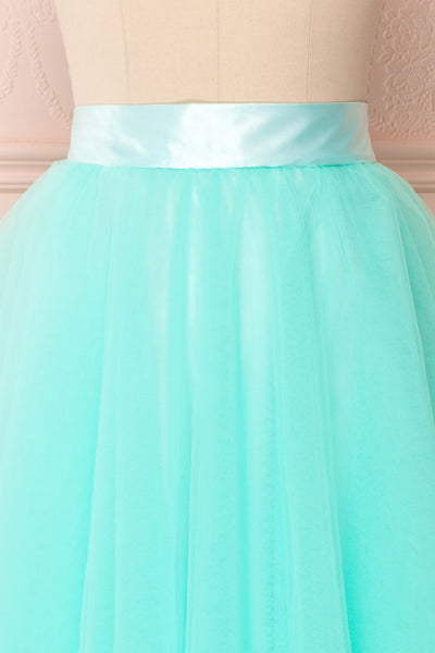 Julieth Menthe Light Turquoise Tulle Skirt | Boutique 1861 2
