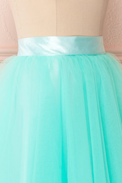 Julieth Menthe Light Turquoise Tulle Skirt | Boutique 1861 4