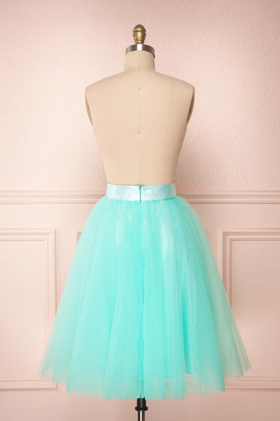 Julieth Menthe Light Turquoise Tulle Skirt | Boutique 1861 5