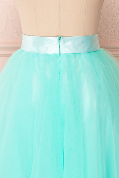 Julieth Menthe Light Turquoise Tulle Skirt | Boutique 1861 6