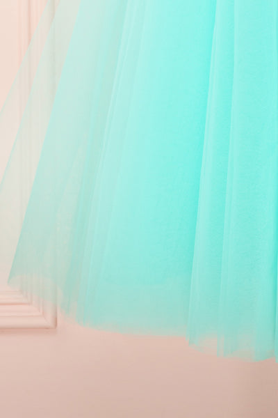 Julieth Menthe Light Turquoise Tulle Skirt | Boutique 1861 7