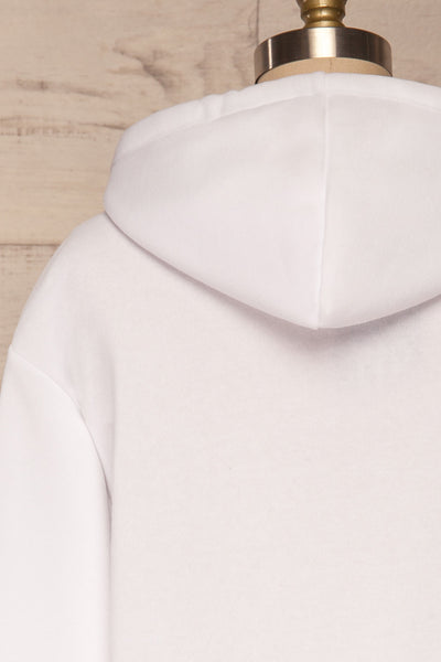 Juxue Snow White Hoodie | La petite garçonne back close up